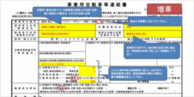 連絡書の書き方|大阪の運送業特化行政書士 堀内法務事務所